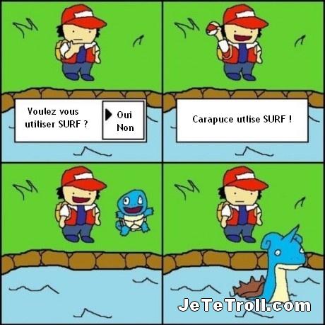 Pokémon et sa logique - meme