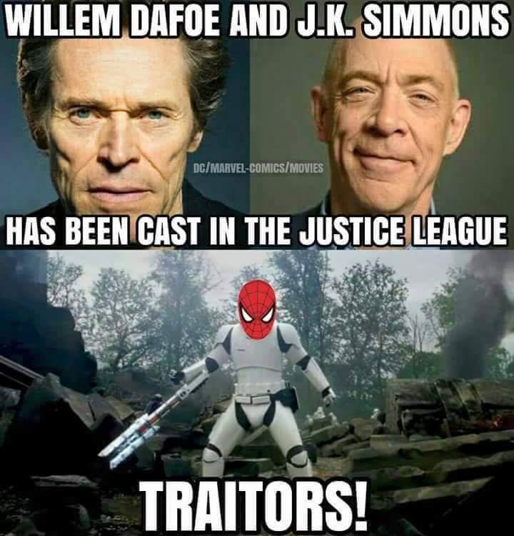 Green goblin and J Jonah jameson - meme