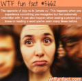 WTF Fun Fact *Confirmed*