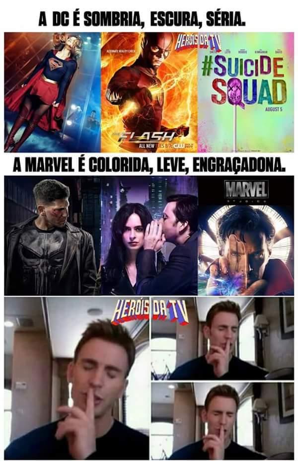 Marvel ou Dc? - meme