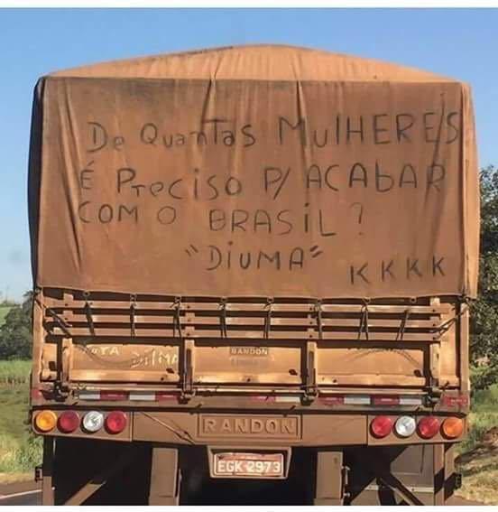 Até os caminhão sabe kkk - meme