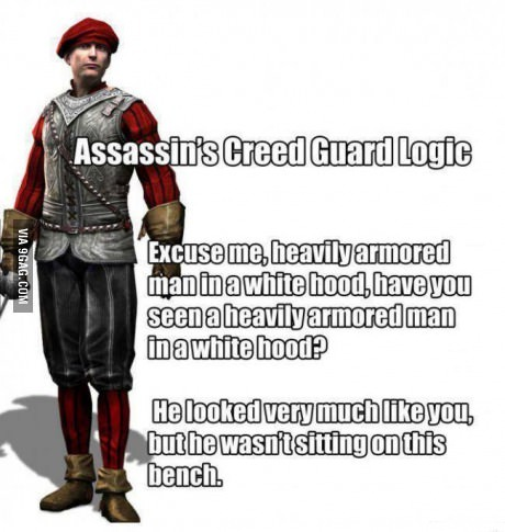Guard logic - meme