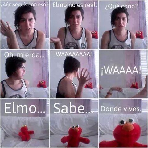 Elmo lo sabe bien - meme