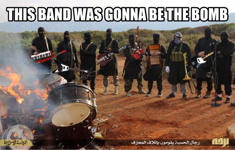 Terroristhead - meme