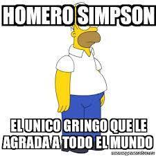 Ese Homero es todo un loquillo ^₩^ - meme