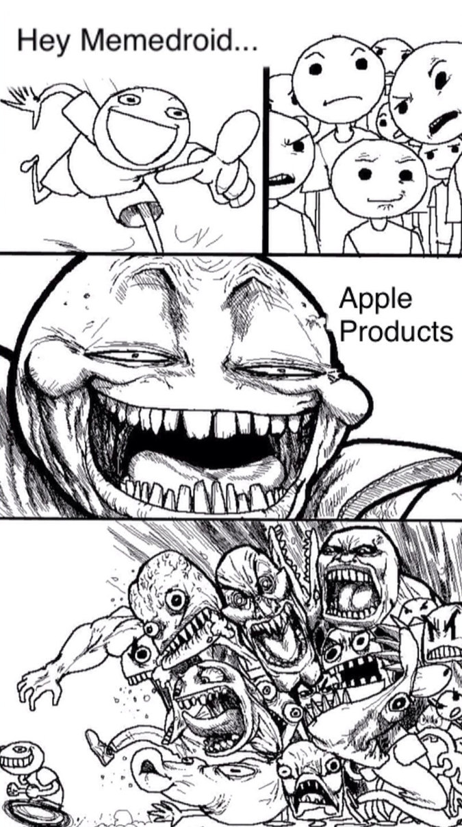 Apple is Crap - meme