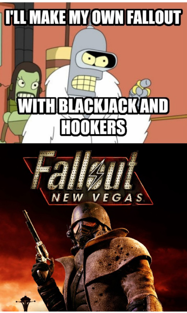 I like fallout - meme