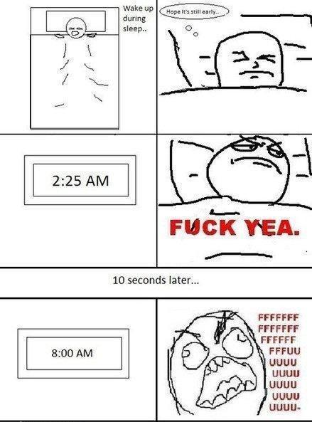 It's still early, let me sleep - meme