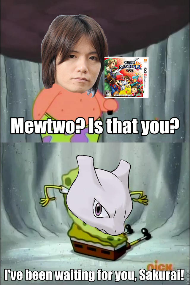 Welcome back mewtwo - meme