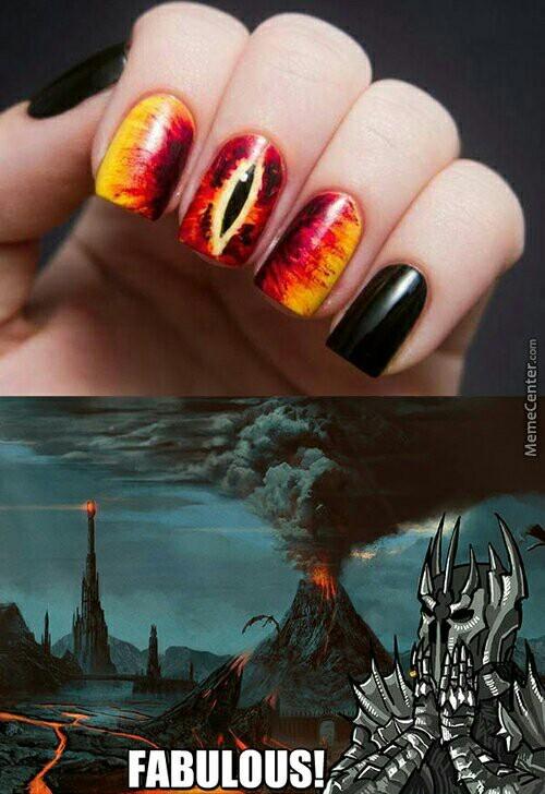 #Sauron - meme