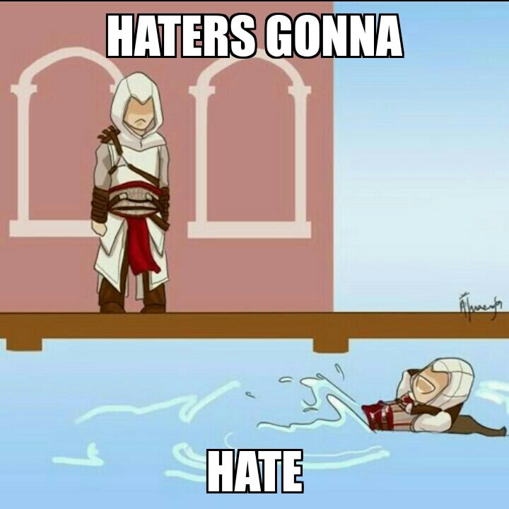 Poor altair :( - meme