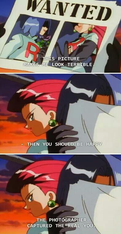 Team Rocket burning at the speed of light - meme