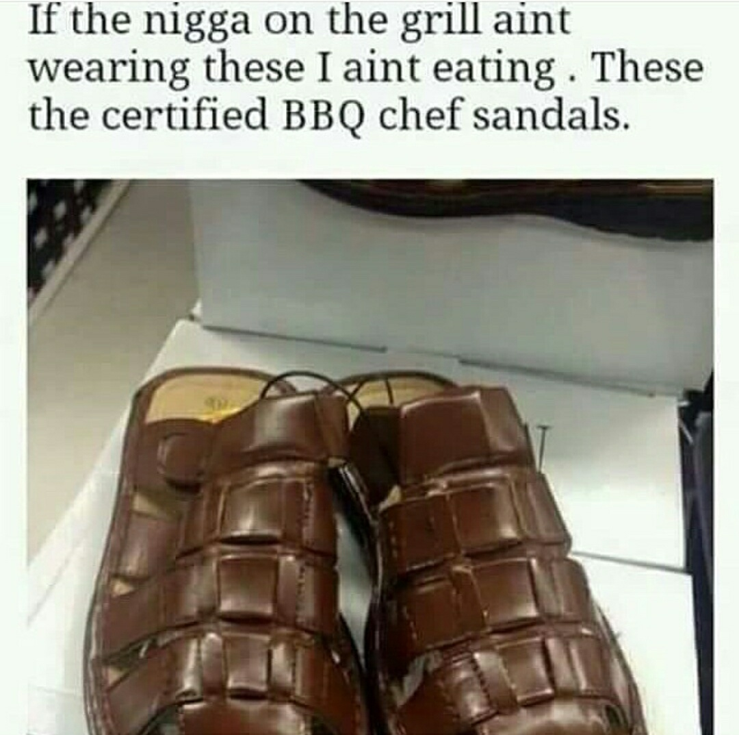 Gotta be certified BBQ or I die - meme