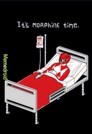 Morphine time! - meme