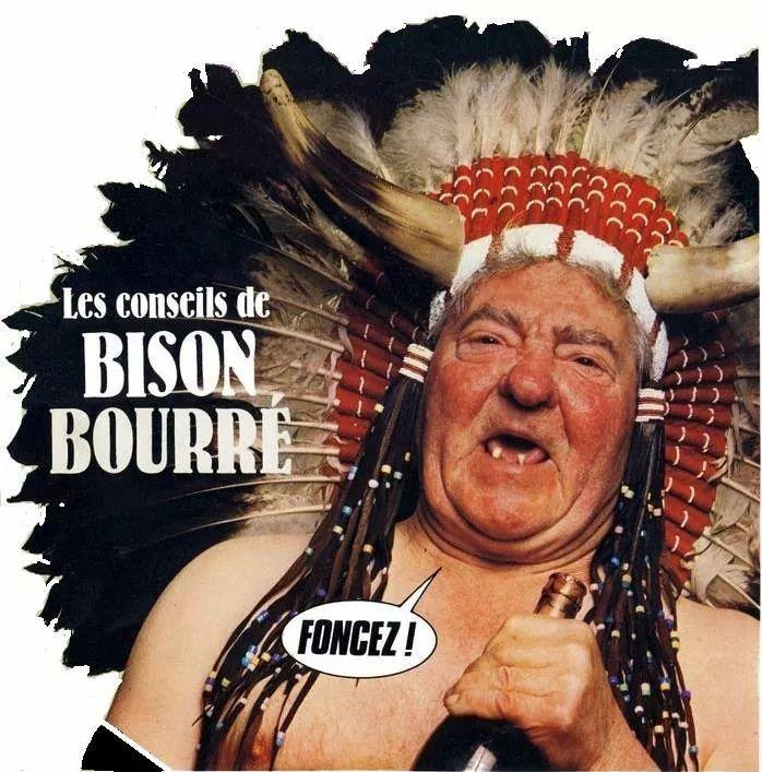 Ceci était un conseil de Bison Bourré. - meme