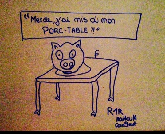Et mon porc USB ? Ça me fais pas porc je vais le retrouver - meme
