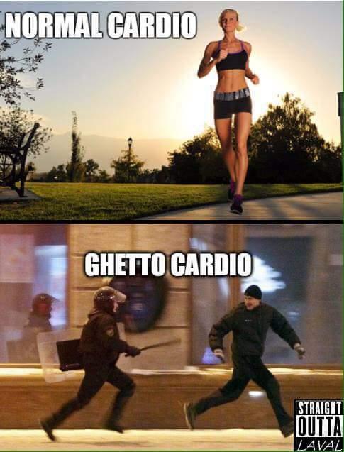 Cardio is cardio though.. - meme