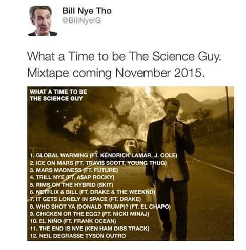 His mixtape made the car catch fire. - meme
