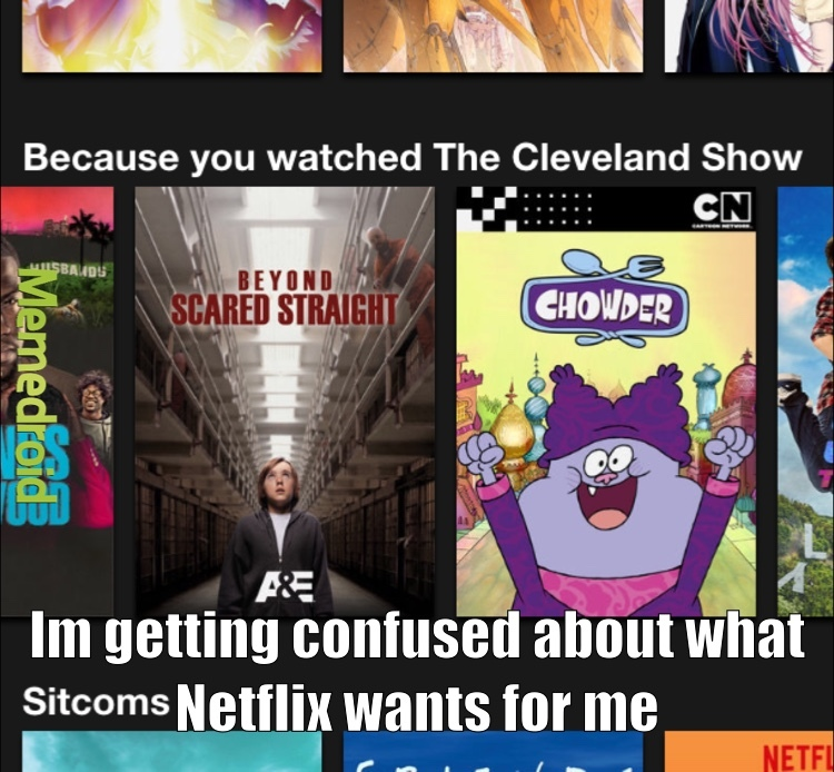 Silly Netflix memes are for kids