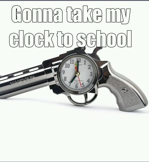 Clock Glock - meme