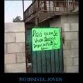 No insistan