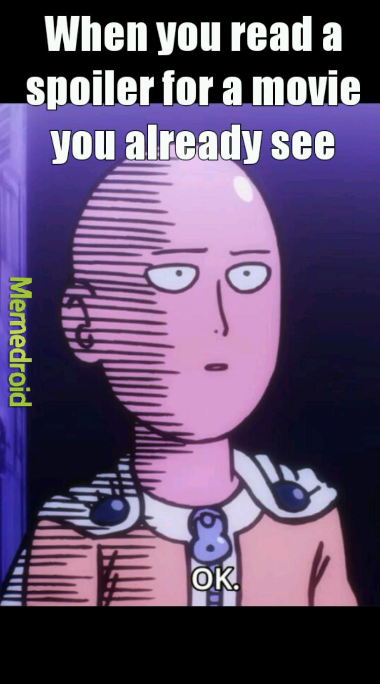 One Punchman last episode soon.. - meme