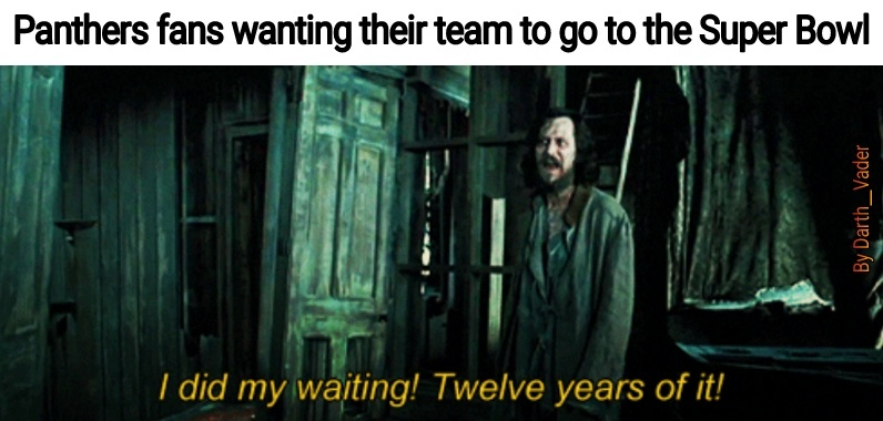 2004-2016 Go Panthers - meme