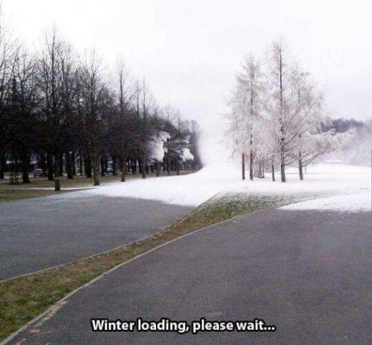winter is here....allmost - meme