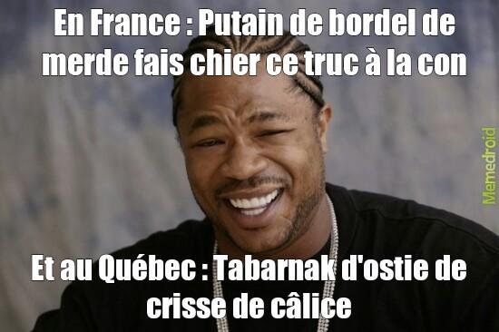 Et au Québec #1 - meme