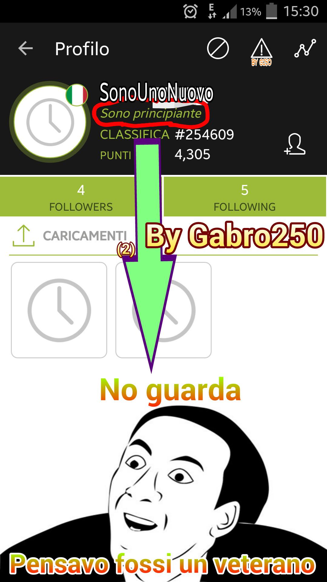 Fate passare ~ Gabro250 - meme