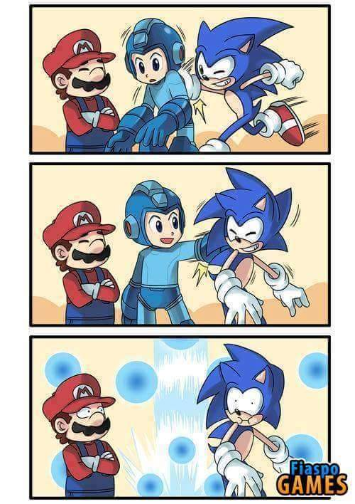 Logica do Megaman - meme