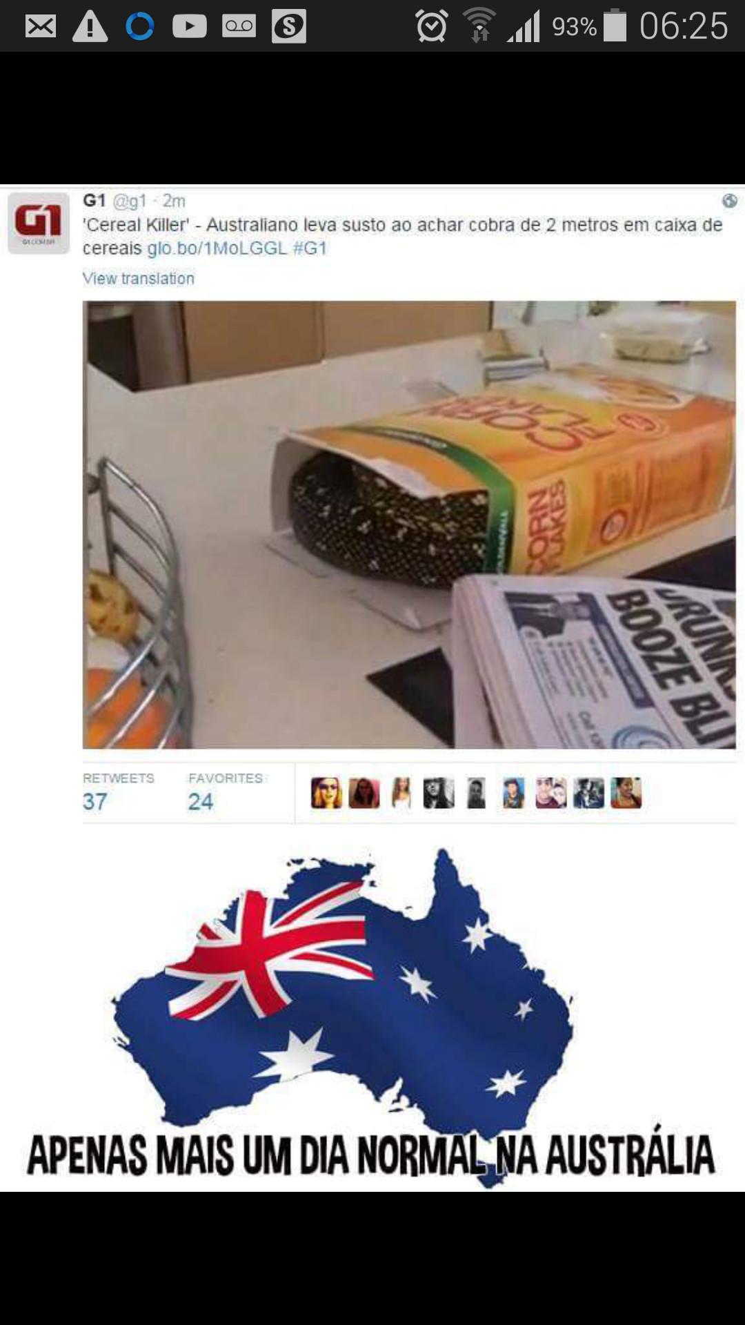 Simplesmente Austrália - meme