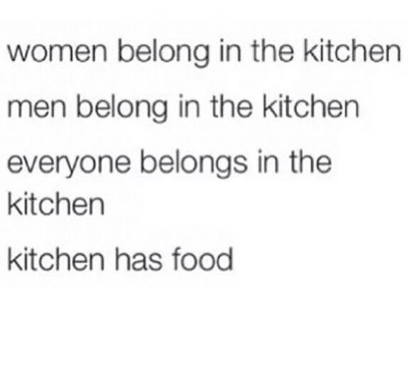 Kitchens Have Food It Is That Simple - meme