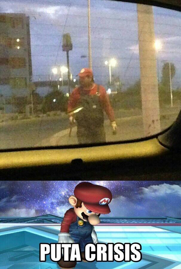 Ese Mario... - meme