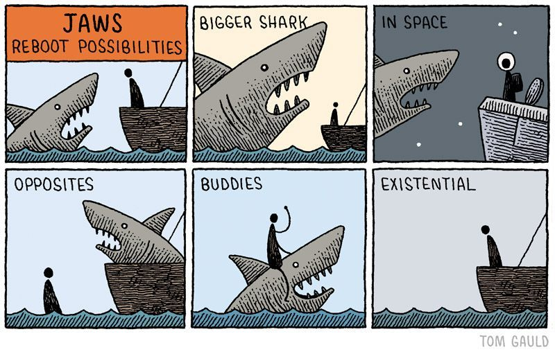 what to expect from the next jaws movie - meme