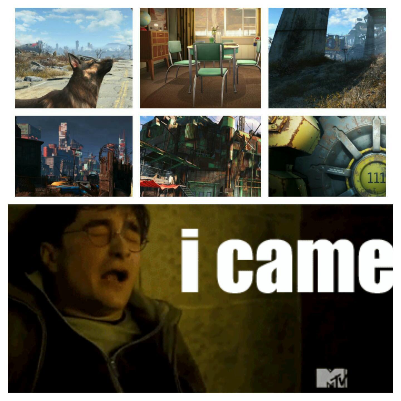 Fallout 4 Confirmed - meme