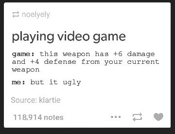 5th comment has an ugly weapon - meme