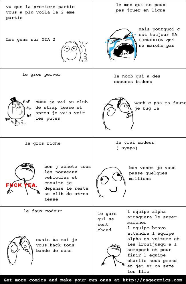 Les gens sur GTA #2 - meme