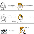 Bon , je me remet en question la , non ?