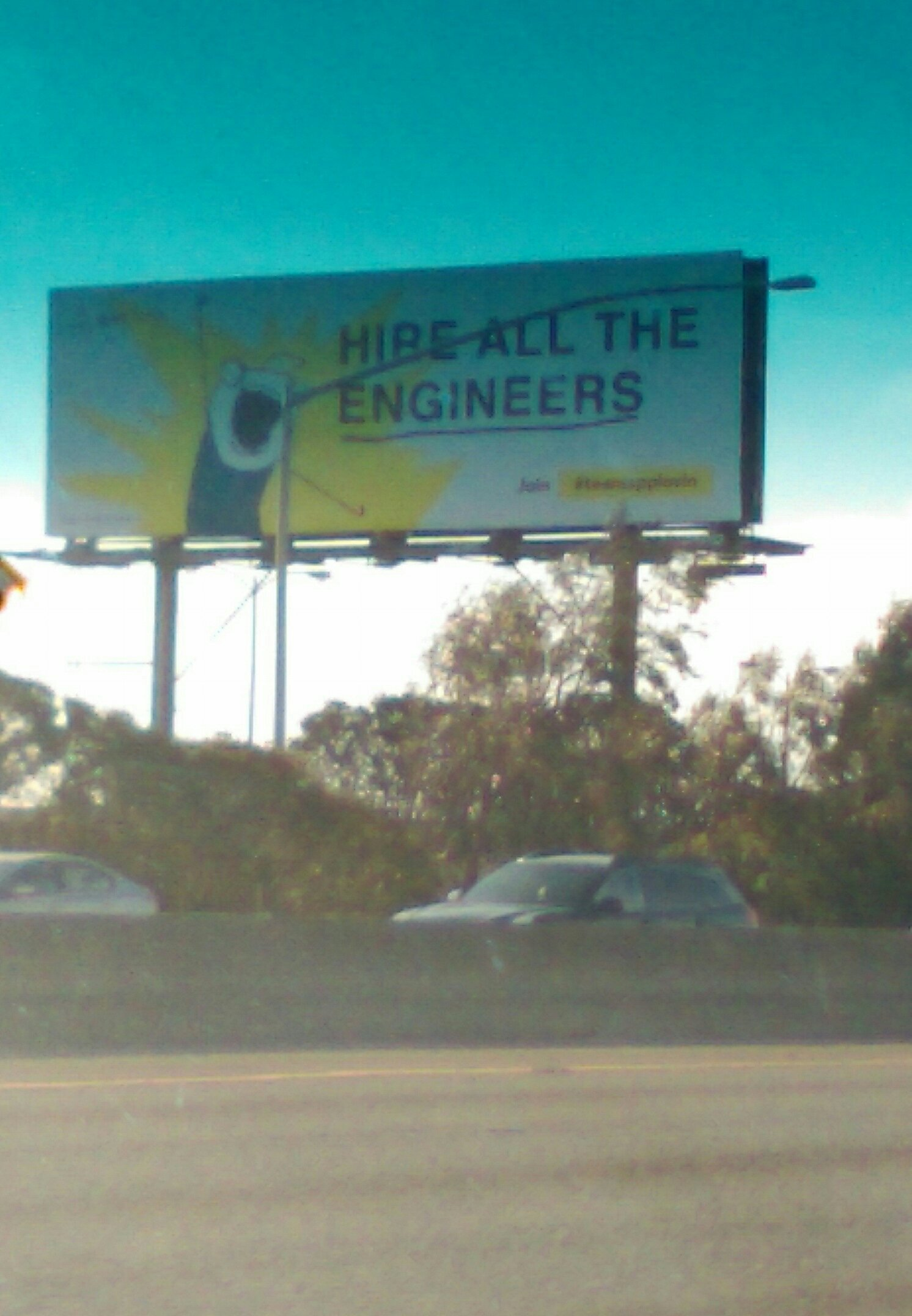 Saw this awesome bill board driving home - meme