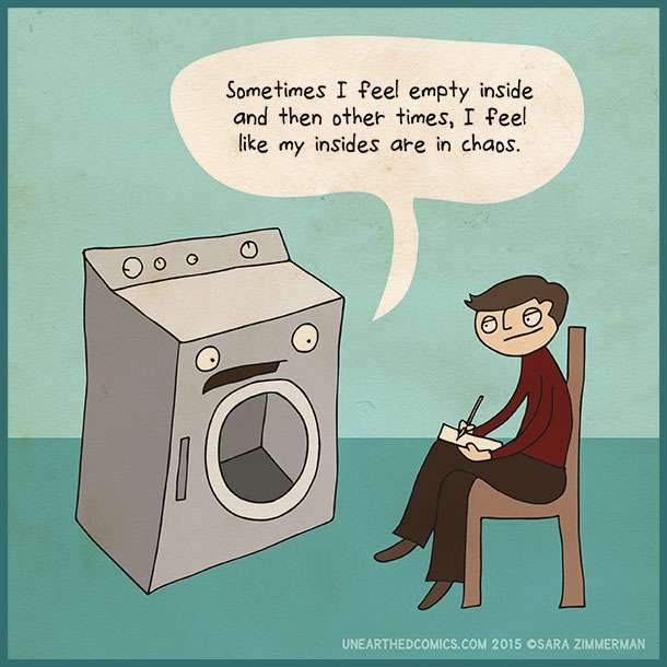 life of a washing machine - meme