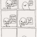 spooky skeleton
