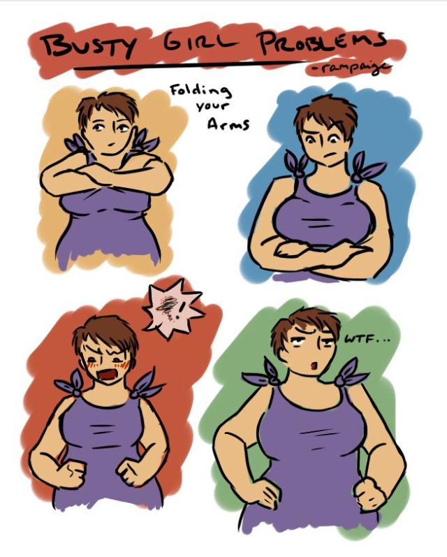 Cant fold arms  - meme