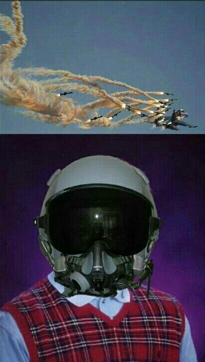 Bad luck pilot - meme