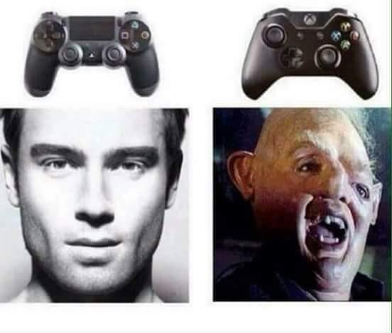 PS4 >>> Xbox One - meme