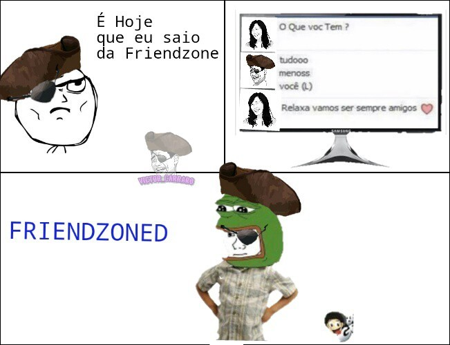 Friendzone Piraterp - meme