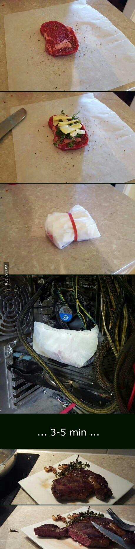 Quem não tiver microondas sem casa usem o desktop de vocês:) - meme