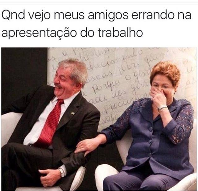 Até o Lula passou na Federal e você não - meme