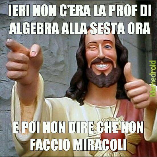 Gesù è sempre con noi - meme