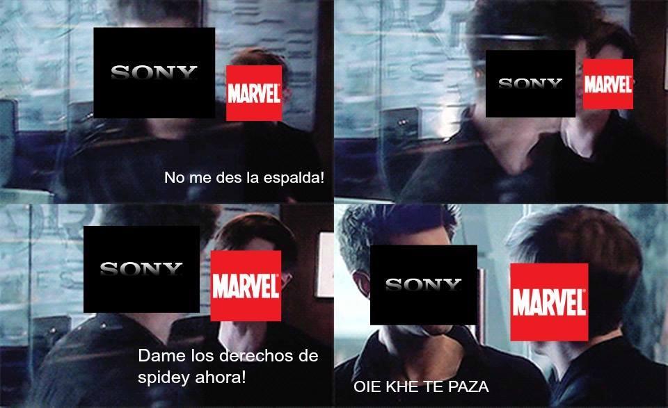 Los derechos de spidey - meme